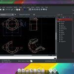 2D CAD tervező és műszaki rajz készítő program