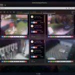 CCTV és NVR videofelügyeleti biztonsági rendszer