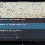 Rádióismétlők megjelenítése térképen