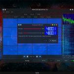 HamRadio eszköz az SSTV és HAMDRM fogadására, továbbítására